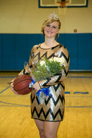 Basketball: Dickson Homecoming Coronation and action vs. Tishomingo